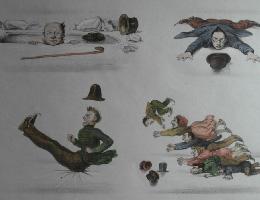 Karikaturale en spotprenten