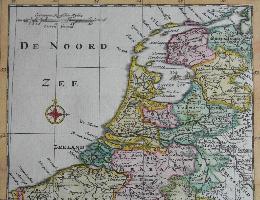 Landkaarten Nederland
