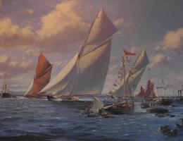 Maritieme Gezichten en zee-kaarten
