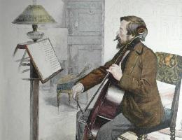 Muziekprenten