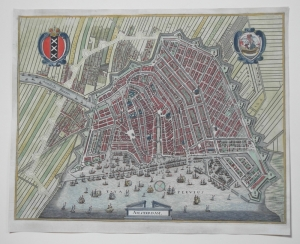Town maps and Profile views Amsterdam