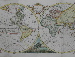 World maps, sky maps, North Pole and South Pole